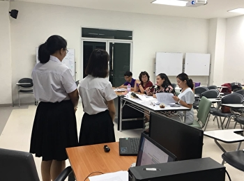 นักศึกษา สาขาวิทย์ความงาม ชั้นปี 4 สอบข้อเสนอโครงร่าง Senior Project จำนวน 8 เรื่อง