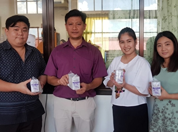 College of Allied health Sciences recives Mosquito repellent for Samutsongkhram Provincial Public Health Office