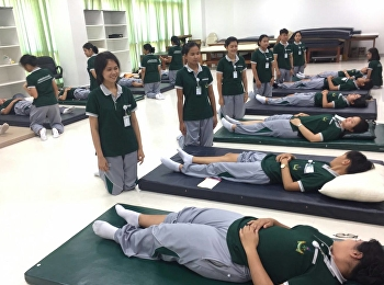 2nd Year Thai Traditional Medicine : Thai Therapeutic Massage 1