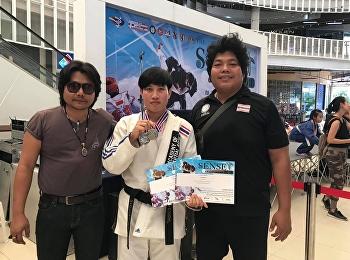 รางวัลชนะเลิศการแข่งขัน The sense Taekwondo&Jujitsu Championship 2018