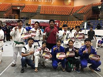 รางวัลชนะเลิศ การแข่งขันยูยิตสู รายการ Budo Warrior ชิงชนะเลิศภาคกลาง (Ranking JJAT)
