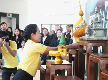 Show commemoration on the occasion of the birthday of His Majesty the Queen. Her Royal Highness Crown Prince Maha Vajiralongkorn. Rajabhat In the King Chulalongkorn.
