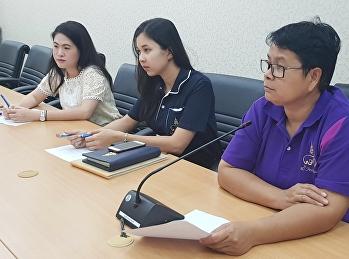 """บุคลากรฝ่ายประชาสัมพันธ์ วิทยาลัยสหเวชศาสตร์ เข้าร่วมประชุม """"KM 2018 การสร้างสรรค์สื่อเพื่อการประชาสัมพันธ์"""" เพื่อเป็นการพัฒนาภาพลักษณ์ที่ของมหาวิทยาลัย"""