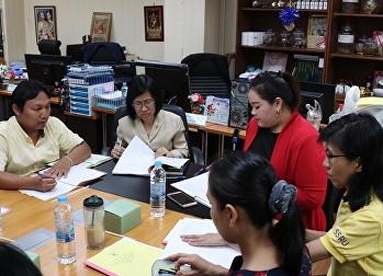 ประชุมคณะกรรมการดำเนินงานโครงการบูรณาการพันธกิจสัมพันธ์ เพื่อแก้ปัญหาความยากจนของประชาชนในท้องถิ่น ประจำปีงบประมาณ 2562