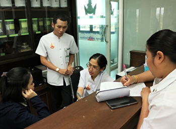 guideline to fourth-year Applied Thai Traditional Medicine (ATM) Trainees at Thai Traditional and Integrated Medicine Hospital at College of Allied Health Sciences. At that point, the third-year ATM students also observed the treatment case and participat