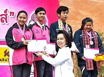 Congratulations to Ms. Kamonwan Akchan, a student from the 4th year of Applied Thai Traditional Medicine Program, won 2 awards from the Younisu Fightin System....