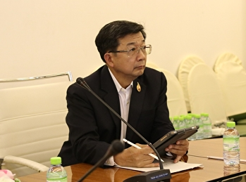 Meeting for Area scope of SSRU-ETH Research Projects that covered Samut Sakorn Hospital.