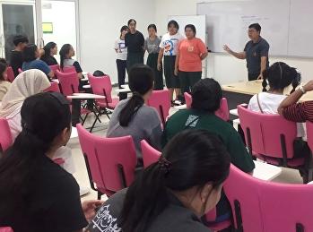 ประชุมผู้นำนักศึกษาและผู้เกี่ยวข้องในการรับน้องใหม่ของแต่ละสาขา ถึงข้อปฏิบัติและแนวทางในการรับน้องใหม่ให้เป็นไปในแนวสร้างสรรค์