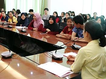 ประชุมผู้นำนักศึกษาเรื่องการรับน้องใหม่ ประจำปีการศึกษา 2562 ให้เป็นไปตามประกาศของกระทรวงการอุดมศึกษา วิทยาศาสตร์ วิจัยและนวัตกรรม