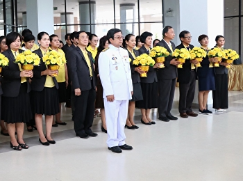 Candle-lighting ceremony in honor of the King Rama V, during the occasion of the auspicious occasion of the 67th Birthday Anniversary.