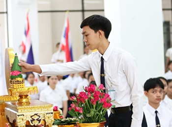 The ceremony to invite the royal seal and the ceremony to make a disciple
