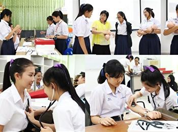 นักเรียนโรงเรียนศรัทธาสมุทร และนักศึกษาเข้าร่วมกิจกรรมในโครงการฝึกประสบการณ์ (work experience)