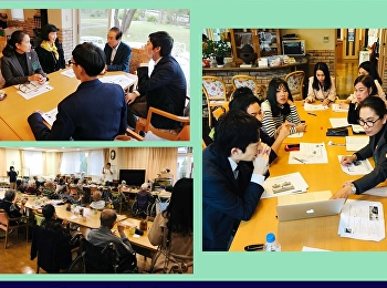 visit to Shoutokukai Medical Corporation in Japan and discussed on academic collaboration for student exchange program. On this occasion