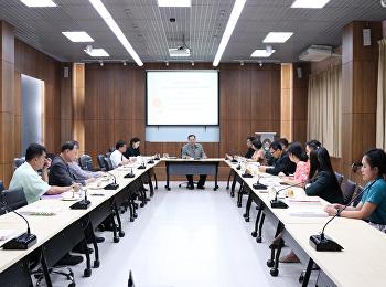 ประชุมคณะกรรมการบริหารกองทุนพัฒนานักศึกษา ครั้งที่ 5/2562