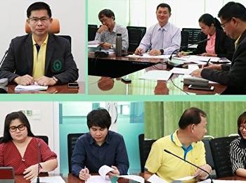 ประชุมคณะกรรมการการดำเนินงานและปฏิบัติงานด้านวิชาการ ครั้งที่ 10/2562