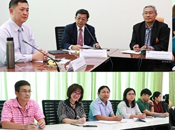 การประชุมสร้างความเข้าใจเรื่อง งบประมาณ ตัวชี้วัดแผนปฏิบัติราชการ และเกณฑ์การประกันคุณภาพการศึกษาภายใน