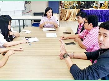 ประชุมทีมประชาสัมพันธ์แนะแนวหลักสูตร ประจำปีการศึกษา 2563