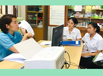 Prepare to practice professional experience at the Social Welfare Development Center of the Elderly, Ban Bang Khae, Bangkok